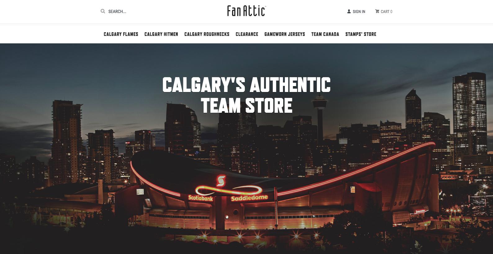 Calgary Flames FanAttic