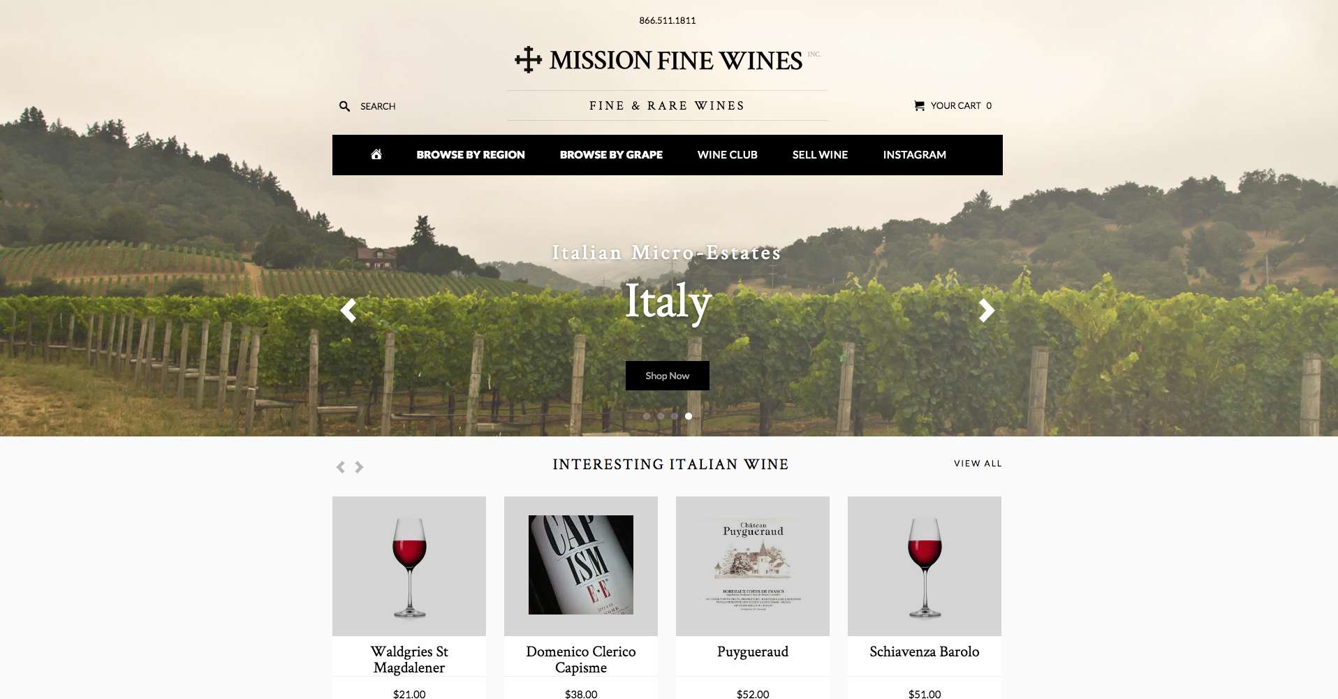 Mission Fine Wines
