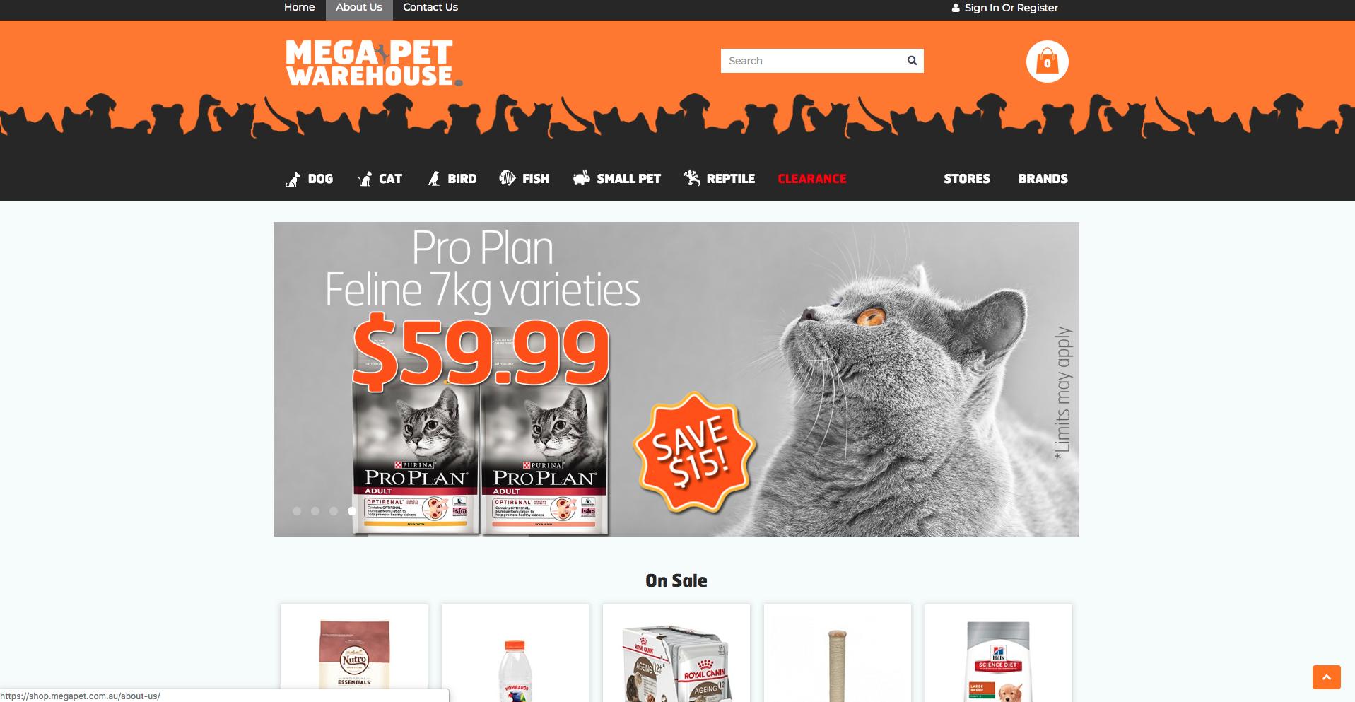 Mega Pet Warehouse