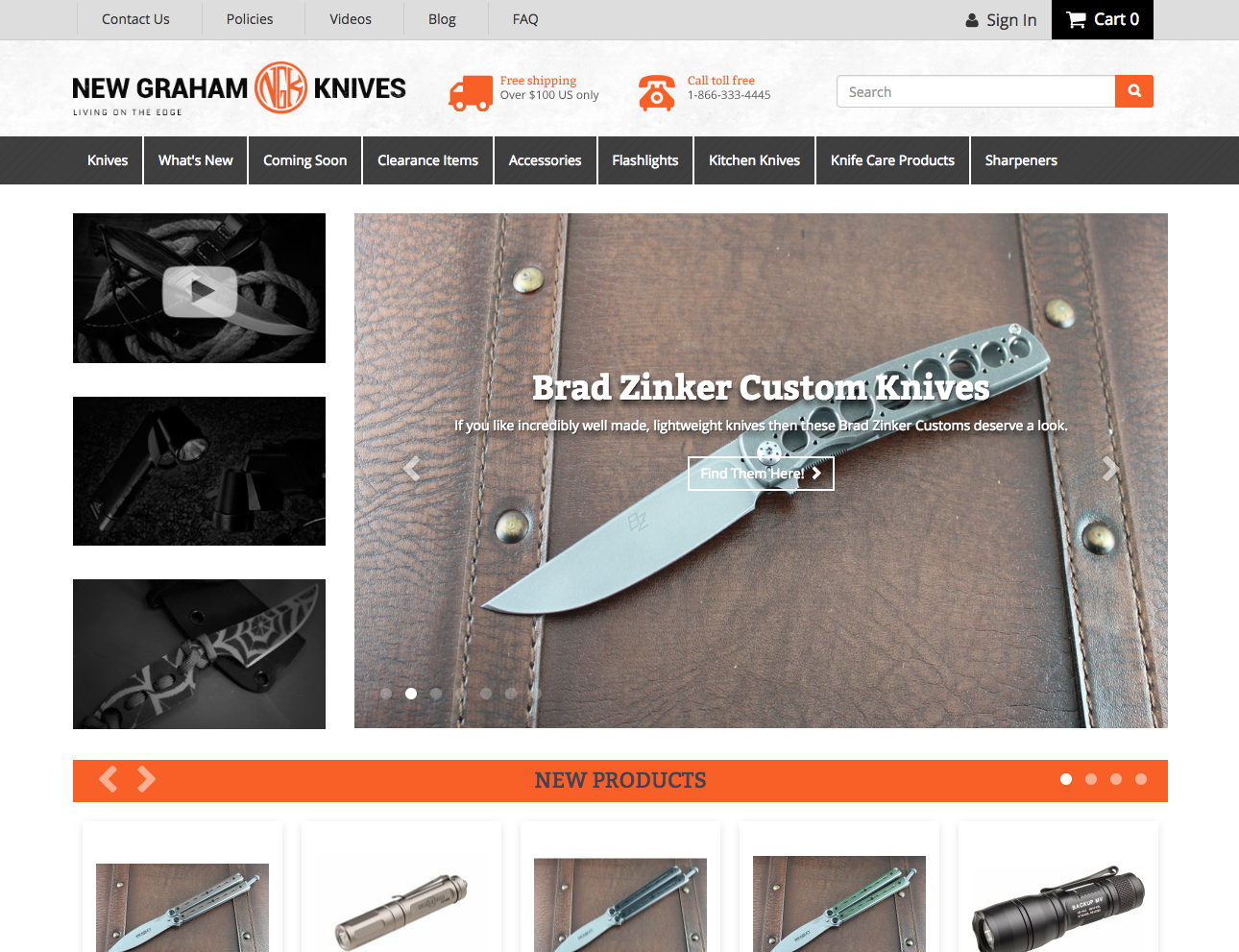 New Graham Knives